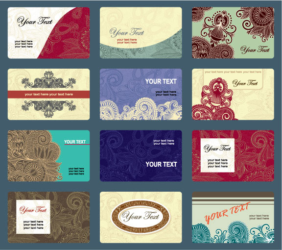 Visiting card free design 4 all all cards are in eps vector format with jpg preview this set of free business card templates contains several card template vector in eps file format reheart Gallery
