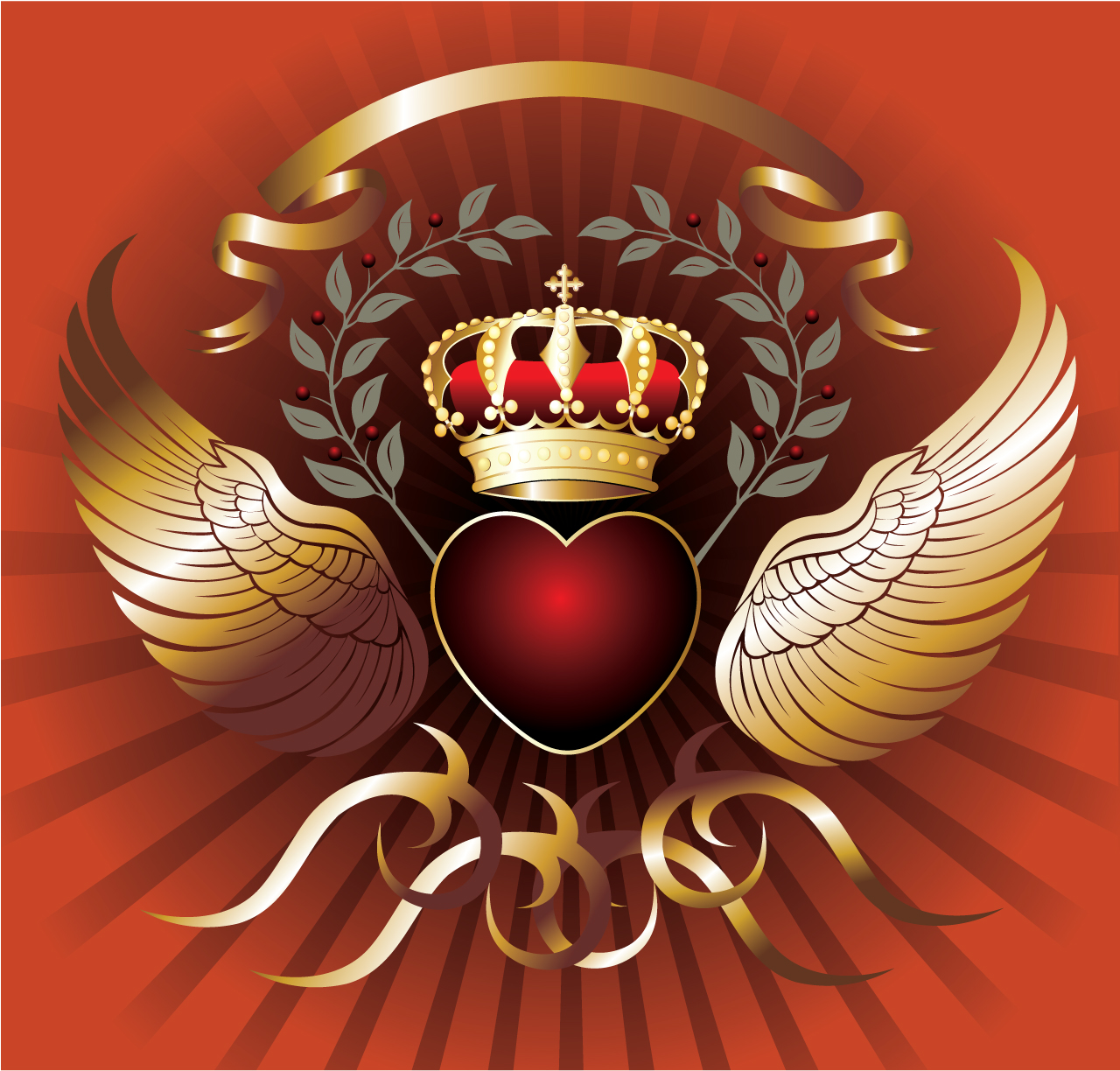 King Crown Wallpaper of The King Crown Vector