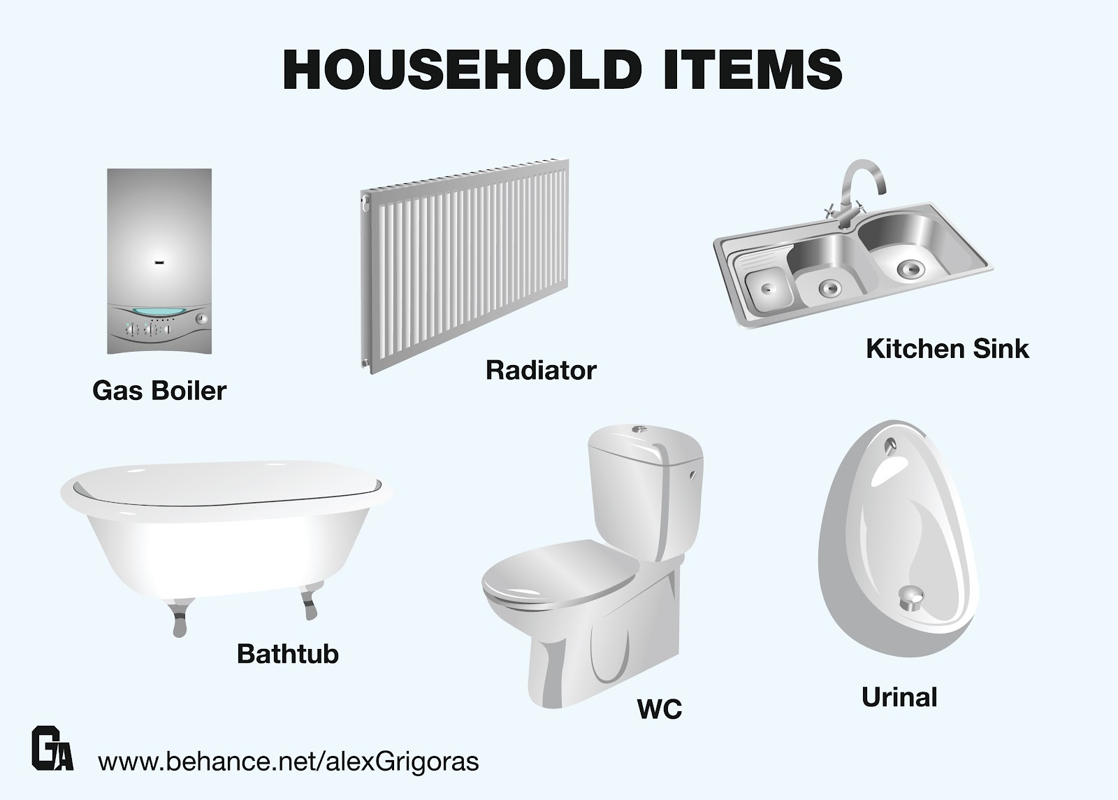 Free design 4 all start downloading the illustrator eps for Items for bathroom